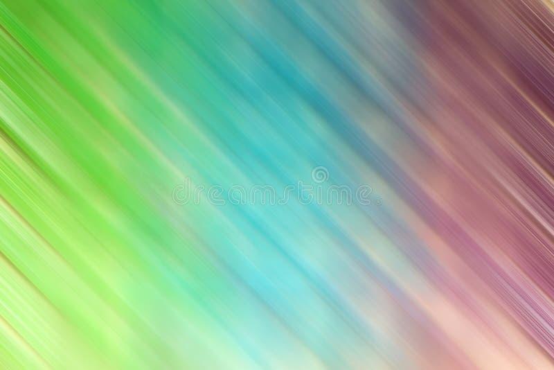Les pastels colorés brouillés de mouvement soustraient le modèle et le fond illustration stock