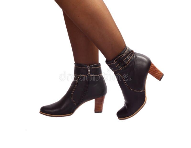 Les pattes du femme photo stock