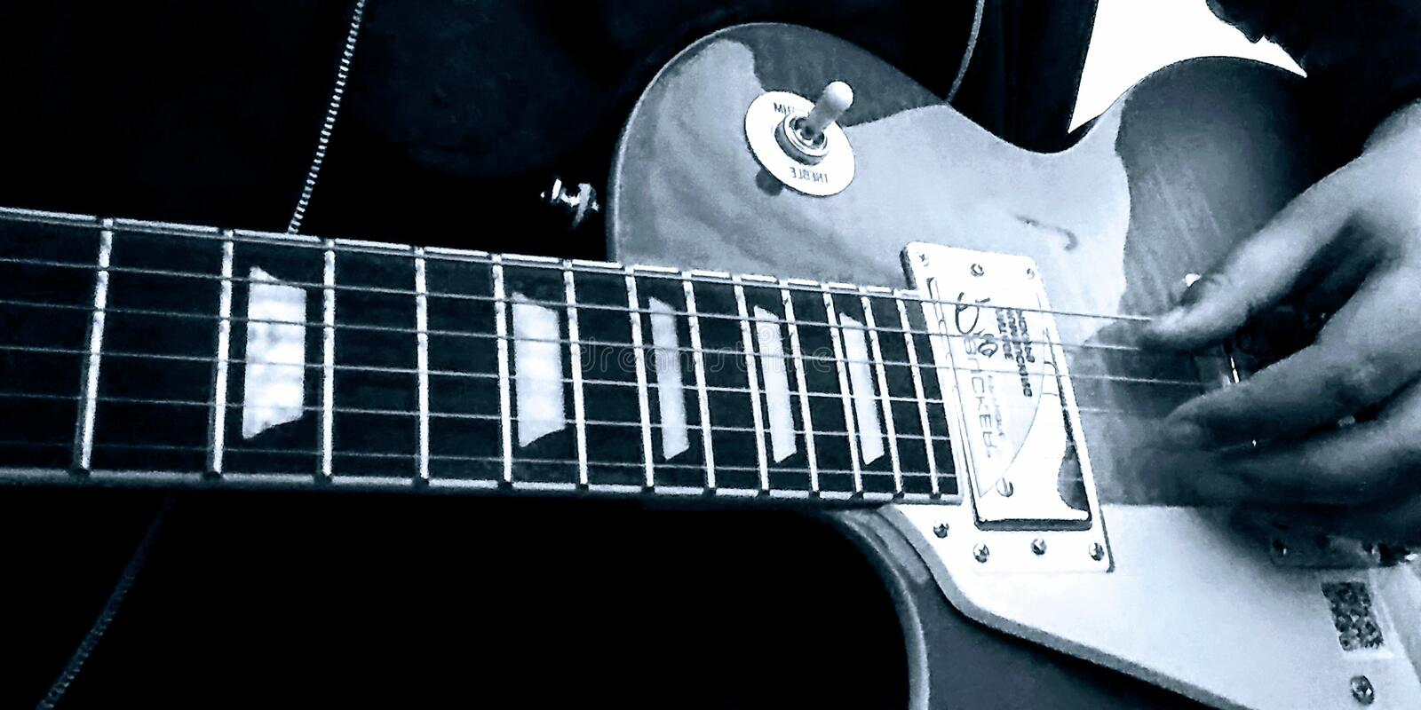 Les Paul image stock