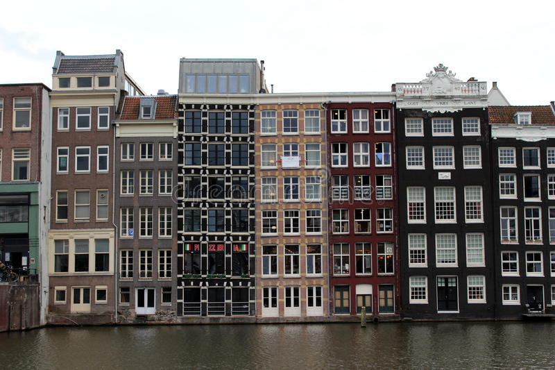 Les Pays-Bas, Amsterdam images libres de droits
