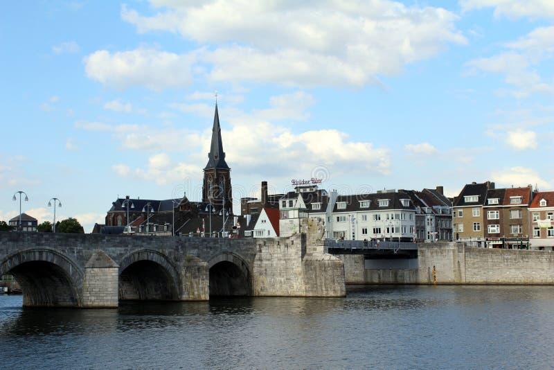 Les Pays-Bas, Maastricht, St Martin Church photographie stock libre de droits