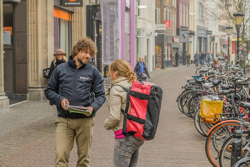 Les Pays-Bas - Utrecht photo stock