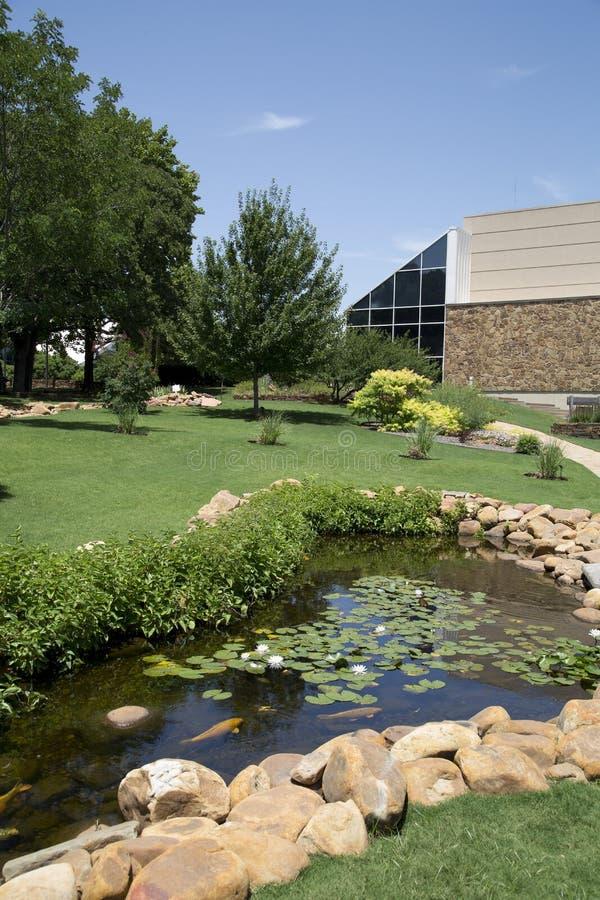 Les paysages gentils conçoivent dans le cowboy national et le musée occidental l'Oklahoma d'héritage photo libre de droits