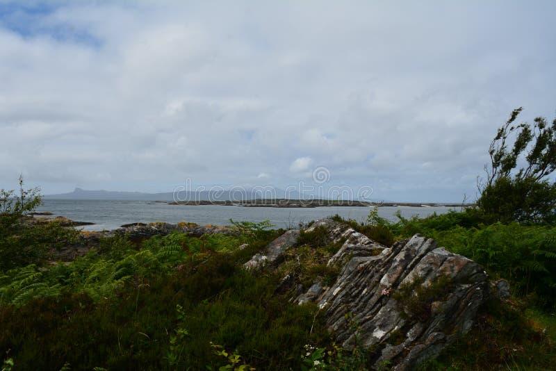 Les petites îles d'Arisaig photos libres de droits