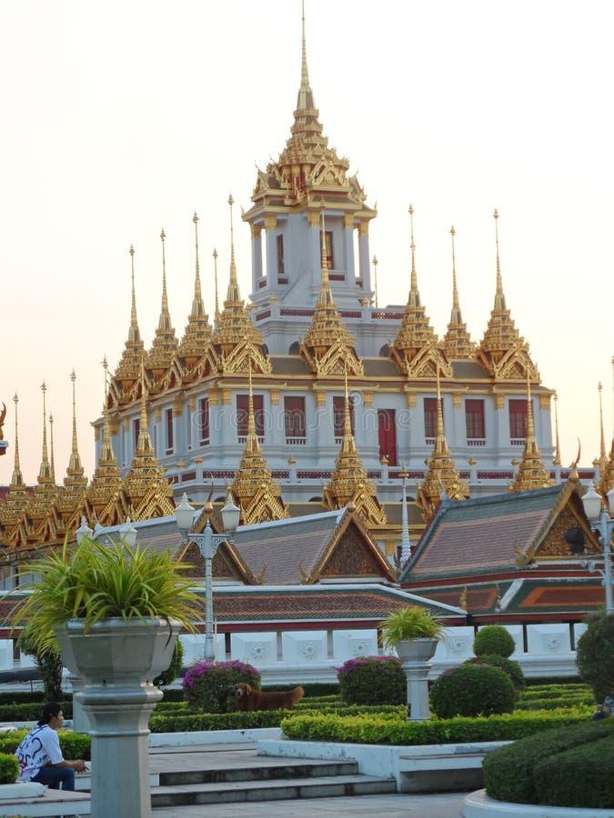 Les photos de parc de jardin à Bangkok, Thaïlande là sont beaucoup d'endroits intéressants thaïlandais et touristes étrangers Ven photos stock