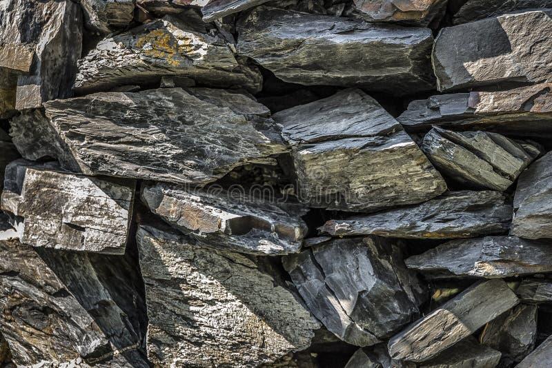 Les pierres sont empilées photo libre de droits