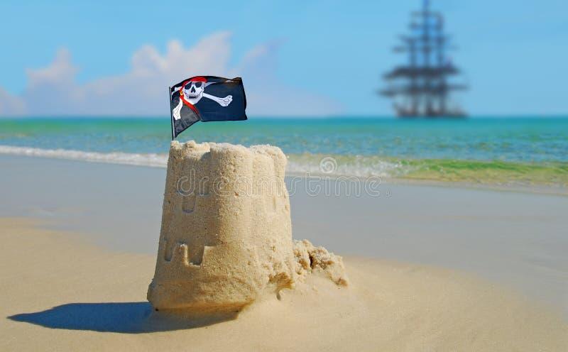 Les pirates étaient ici photos libres de droits