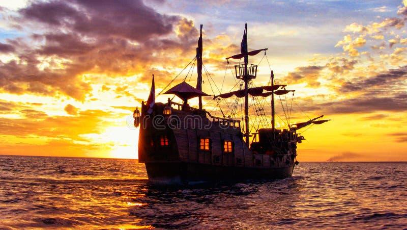 Les pirates des 04 des Caraïbes photo libre de droits