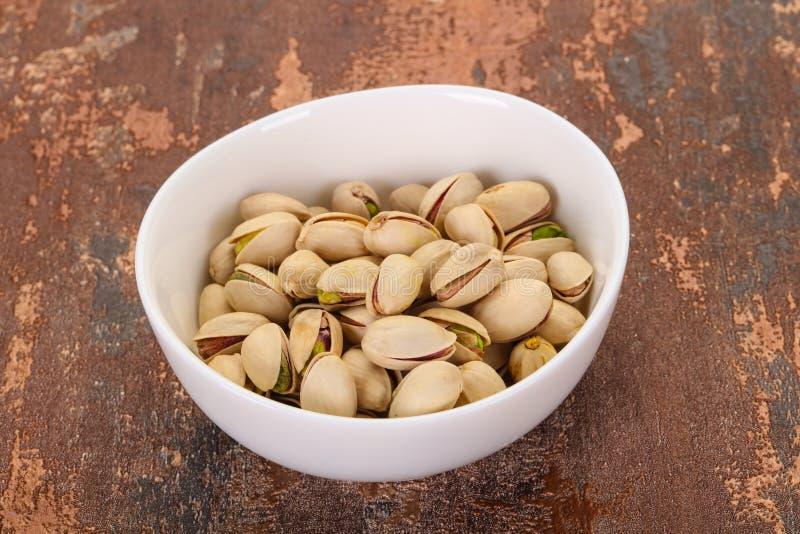 Les pistaches amassent photo stock