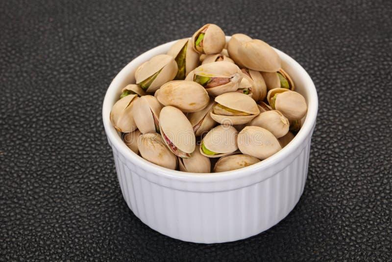 Les pistaches amassent photo libre de droits
