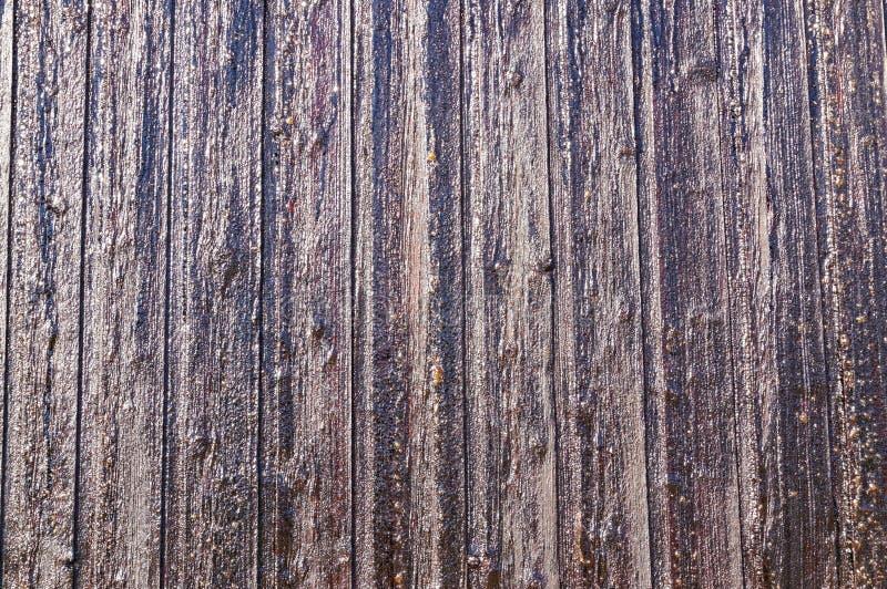 Les planches en bois norvégiennes ont fixé la résine photographie stock libre de droits