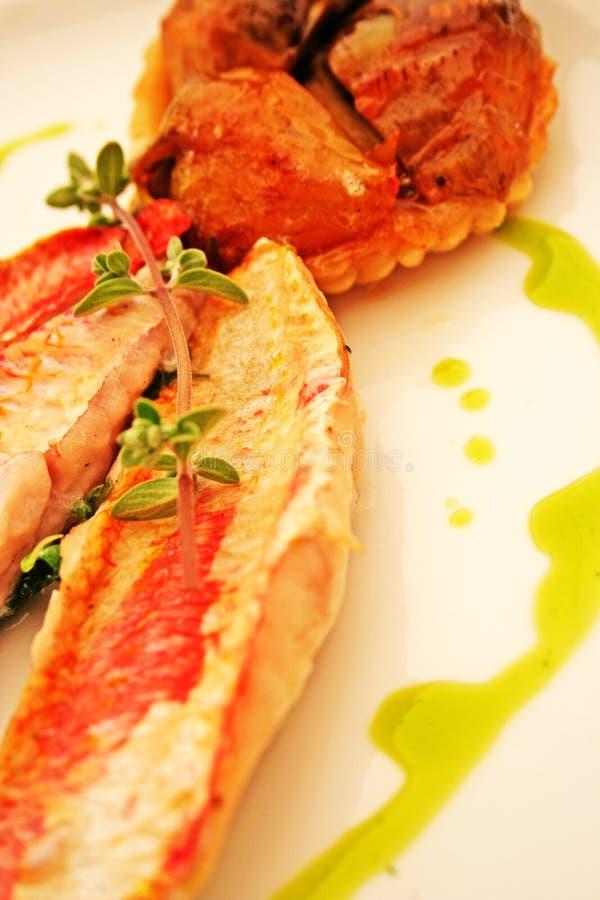 Les poissons plat photographie stock