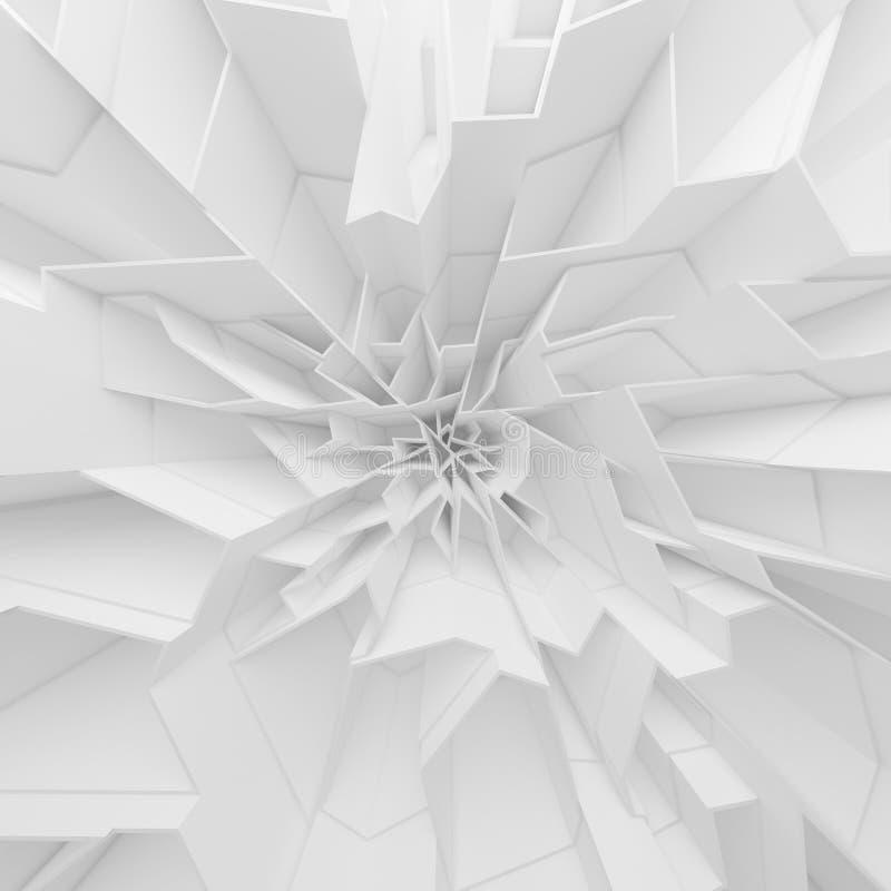 Les polygones géométriques d'abrégé sur couleur wallpaper, comme mur de fente images stock