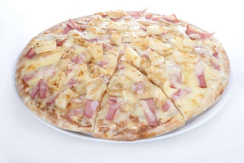 Les pommes de terre ont mélangé la conception de pizza de fromage images libres de droits