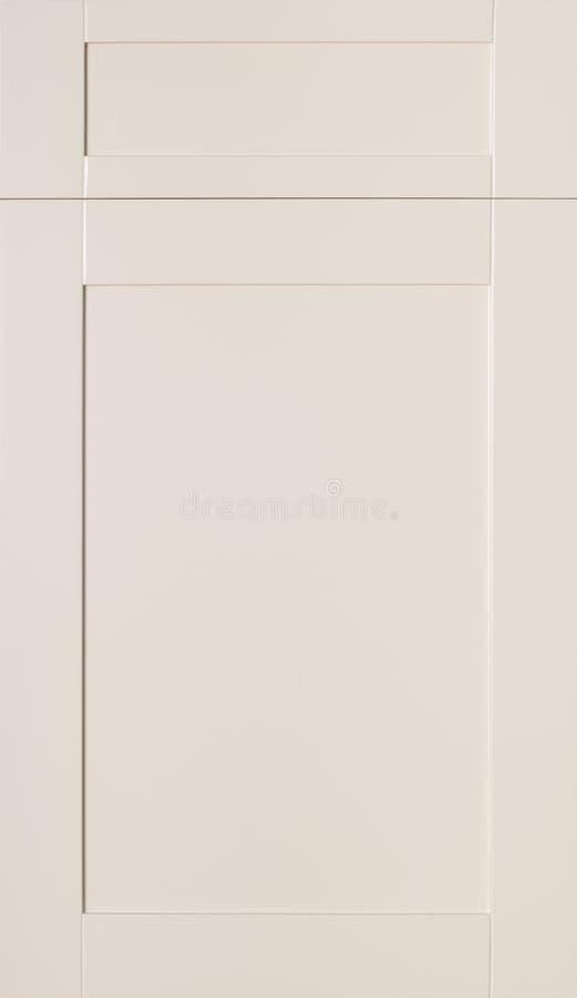 Les portes de Cabinet, panneau d'avants avec le tiroir affronte images stock