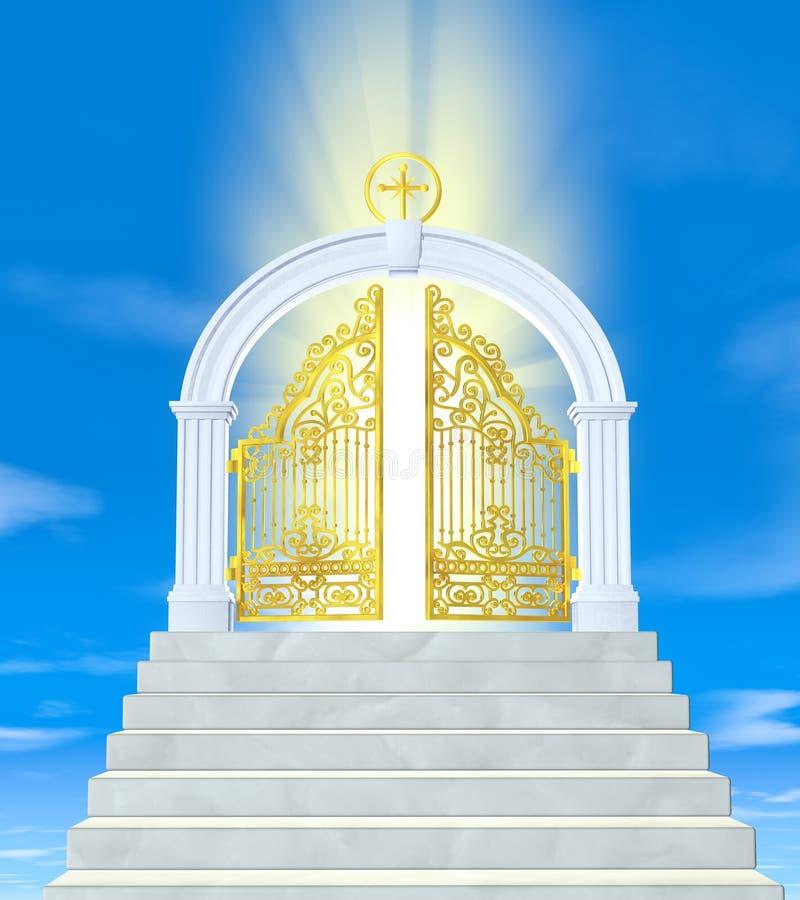Les portes du paradis photo stock image du mythe - Les portes du hammam vendargues ...