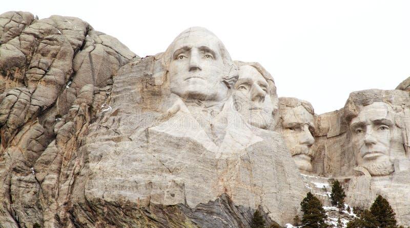 Les présidents du mont Rushmore photographie stock libre de droits