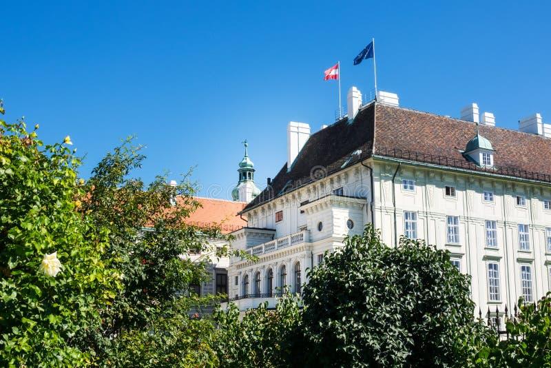 Les Présidents Office Autriche photo libre de droits