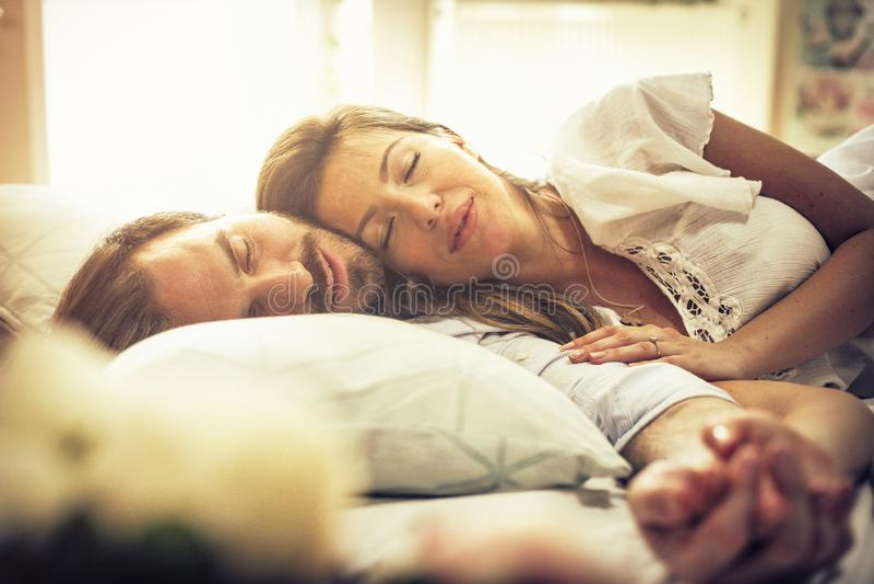 Les rêves sont beaux quand nous sommes ensemble image libre de droits
