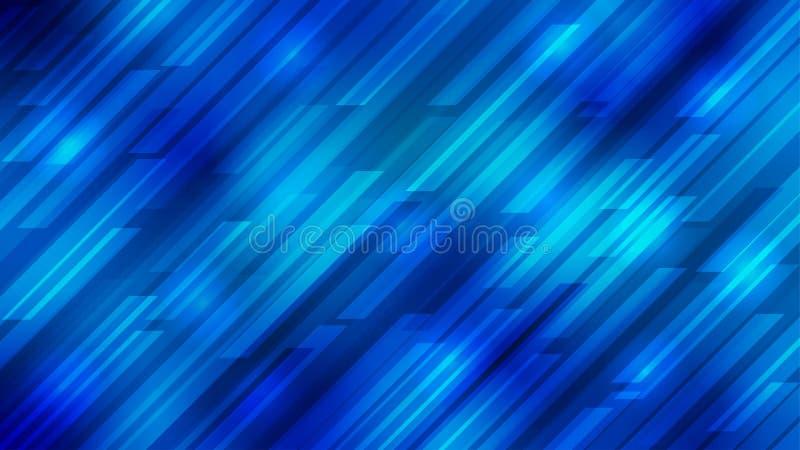 Les rayures diagonales lumineuses de résumé donnent une consistance rugueuse à l'arrière-plan bleu illustration libre de droits