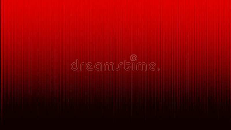 Les rayures verticales abstraites donnent une consistance rugueuse à l'arrière-plan rouge illustration libre de droits