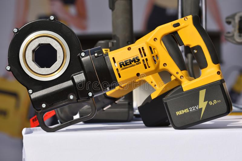 Les rems des machines-outils photo stock