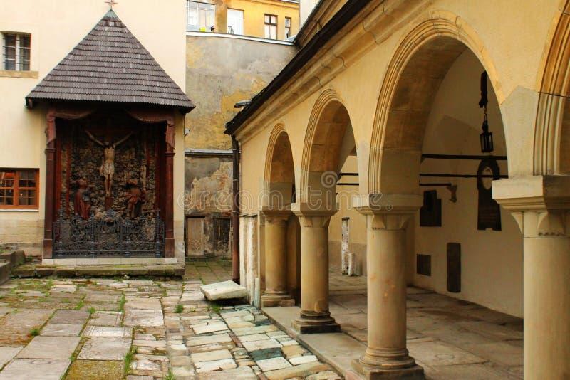 Les restes de l'église arménienne photographie stock