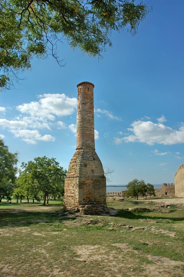 Les restes de la forteresse d'Akkerman image stock
