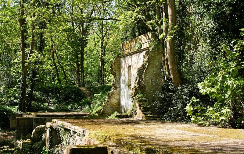 Les restes de 1926 moulins de incorporation à la poudre d'Oare fonctionnent photos libres de droits