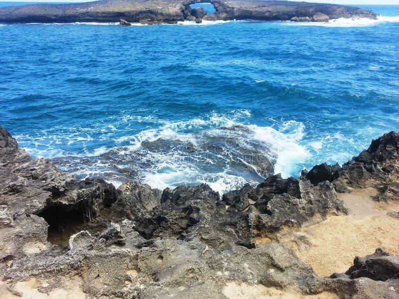 Les rivages des séries de Honolulu images stock