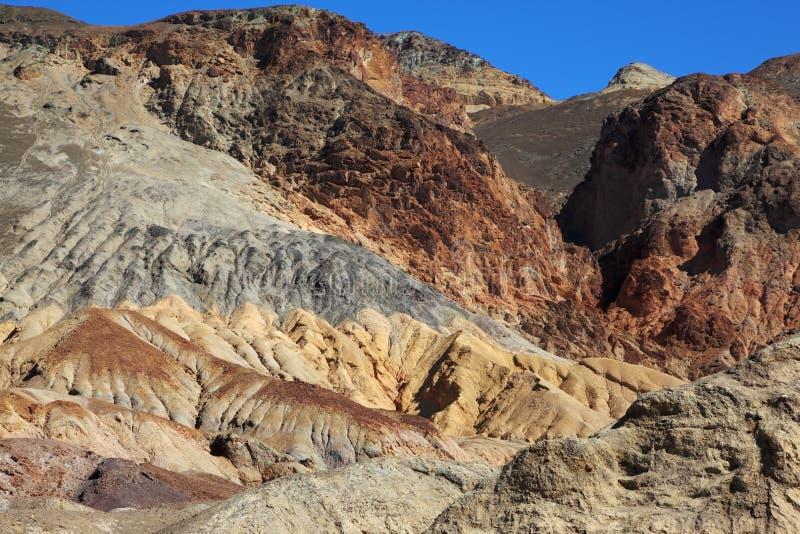 Les roches dans Death Valley photos libres de droits