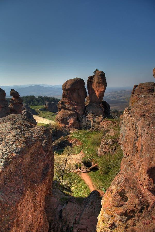 Les roches 2 de Belogradchic photographie stock libre de droits