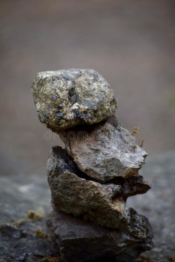 Les roches de la vie image stock