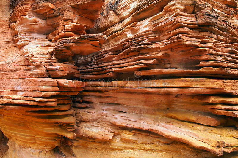 Les Rois Canyon, centre rouge, Australie images stock
