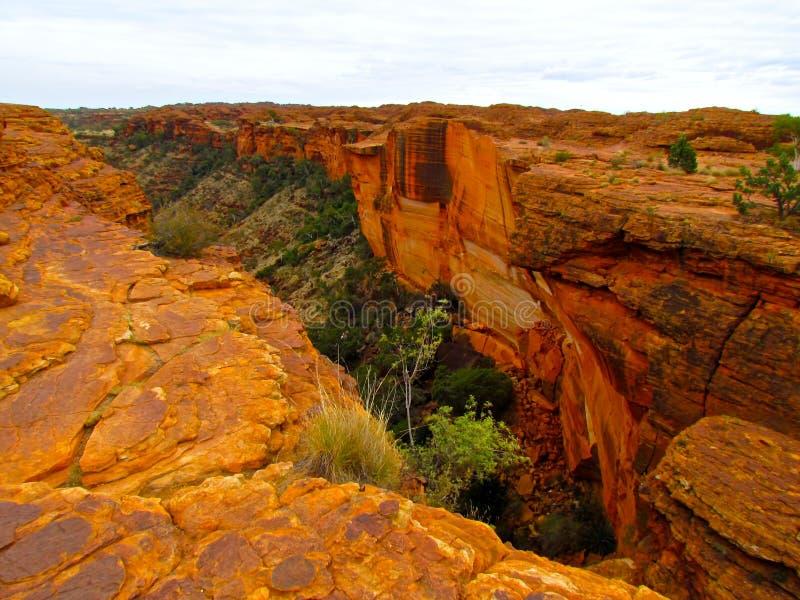 Les Rois Canyon d'Australie à l'intérieur image stock
