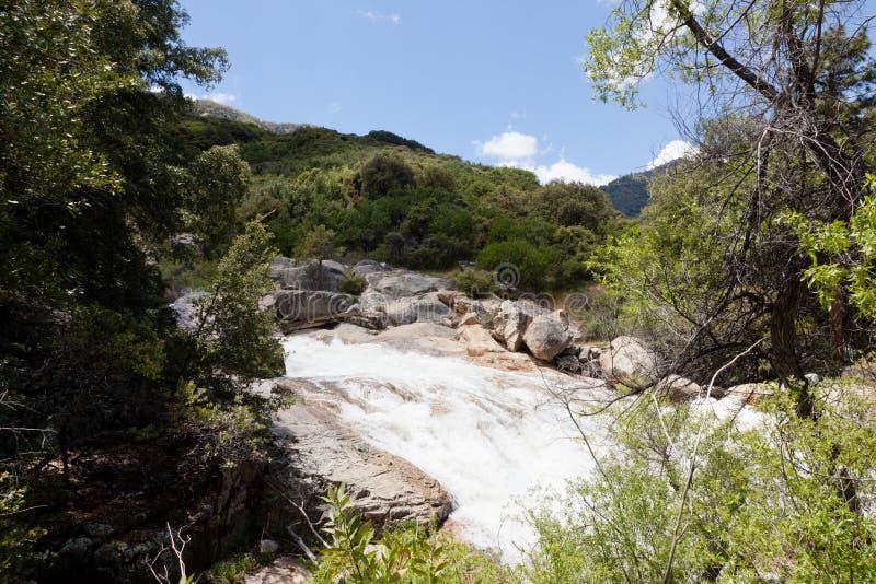 Les Rois River de fourchette du sud photos libres de droits