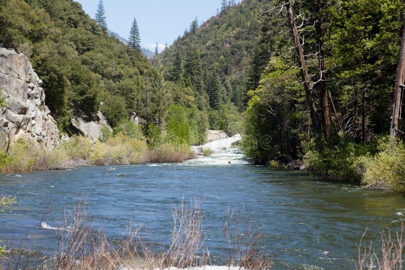 Les Rois River de fourchette du sud image stock