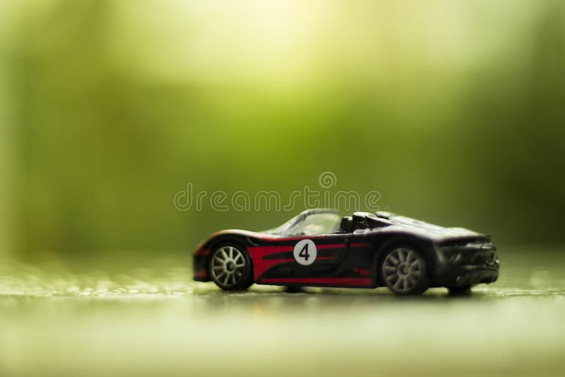 Les roues chaudes jouent la voiture photo stock