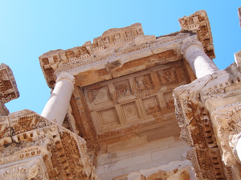 Les ruines antiques photo stock