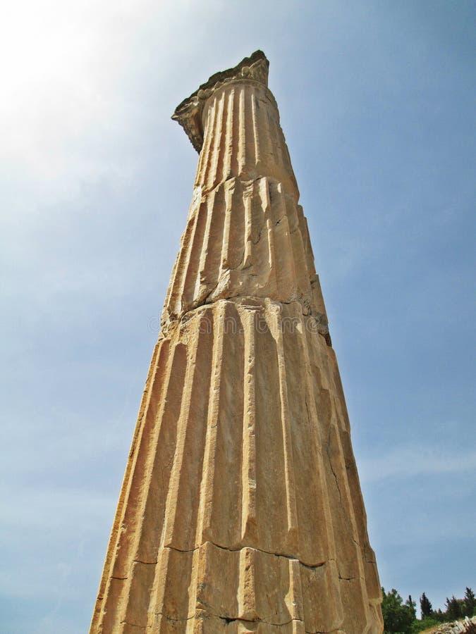 Les ruines antiques photo libre de droits