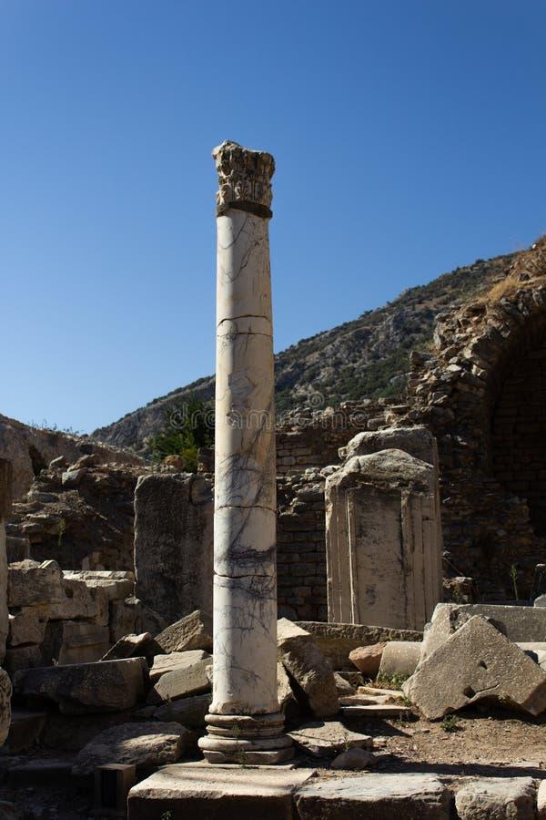 Les ruines d'Ephesus - la Turquie en août 2018 - photo libre de droits