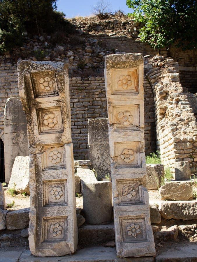 Les ruines d'Ephesus - la Turquie en août 2018 - image stock