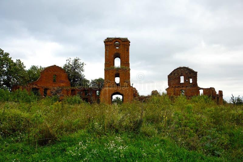 Les ruines d'un palais antique photos libres de droits