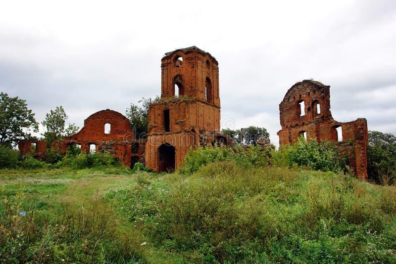 Les ruines d'un palais antique photographie stock libre de droits