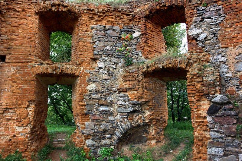 Les ruines d'un palais antique images stock