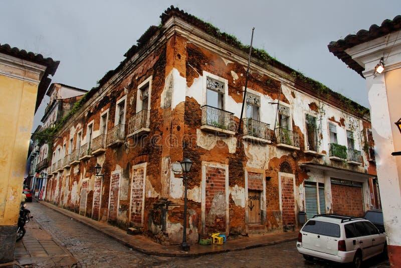 Les ruines dans le sao Luis font Maranhao photo stock