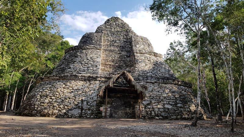 Les ruines de Coba photos libres de droits