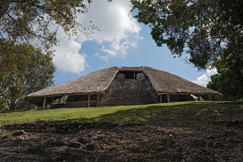Les ruines de la ville maya antique de Kohunlich, Quintana Roo, Mexique photo libre de droits