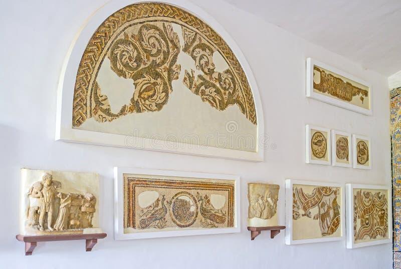 Download Les Ruines De Vieilles Mosaïques Image stock éditorial - Image du allégement, antique: 77158779