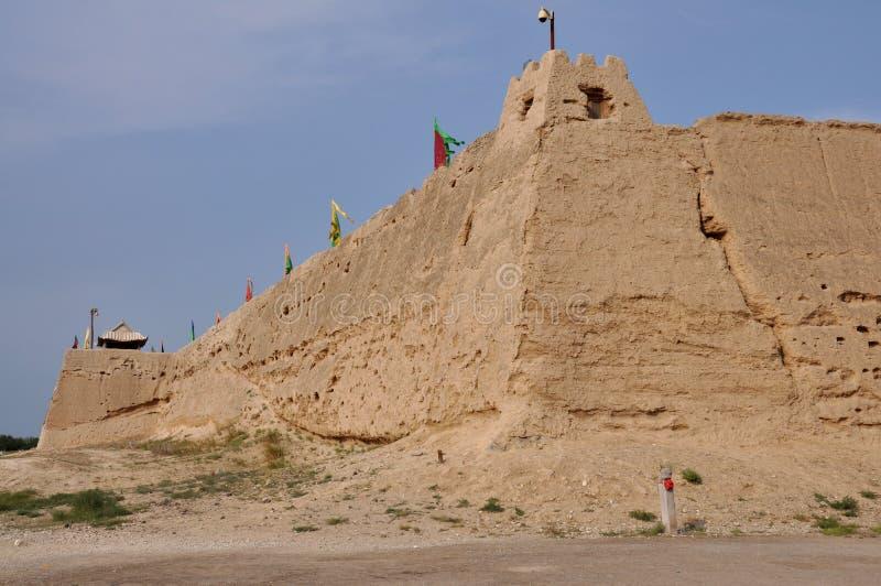 Les ruines du fort antique photographie stock libre de droits